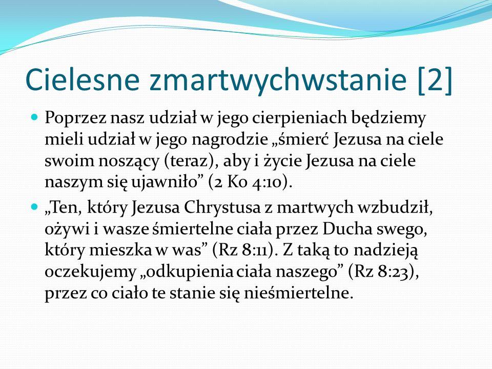 Cielesne zmartwychwstanie [2]
